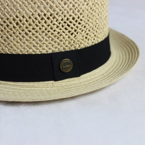 Straw Pork Pie Hat