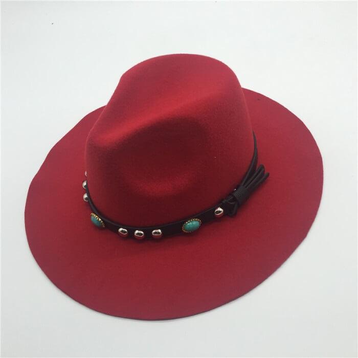 acrylic felt hat