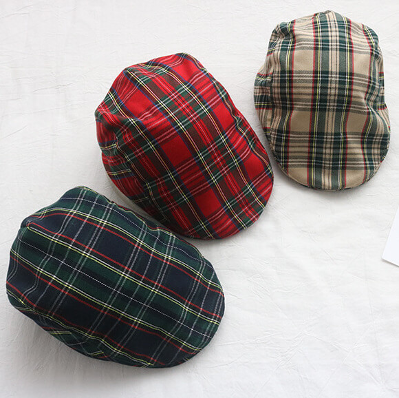 wholesale custom tartan hat