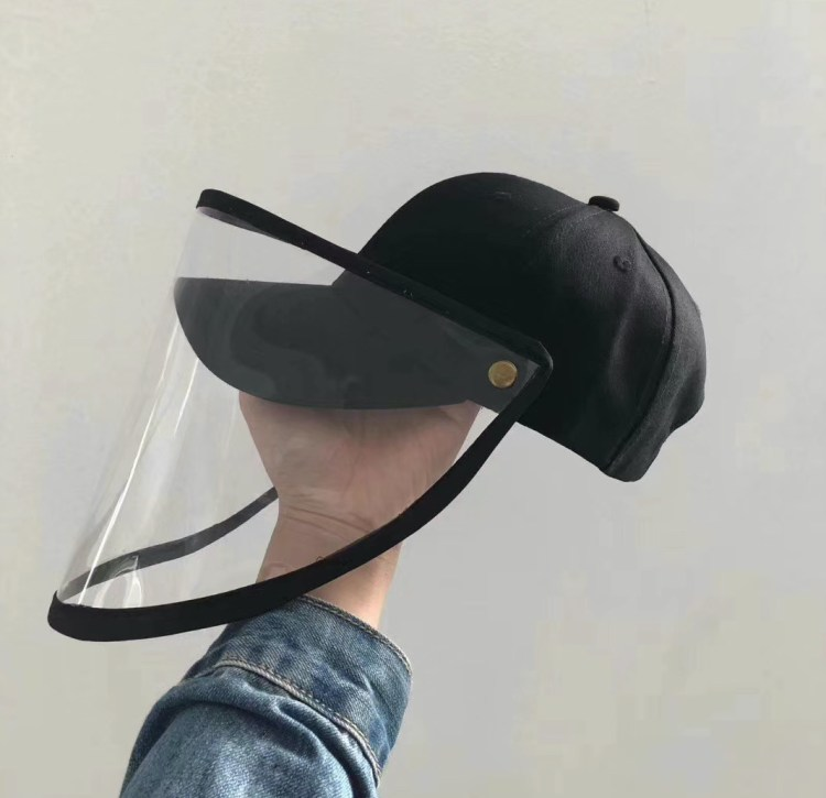 cap with face mask