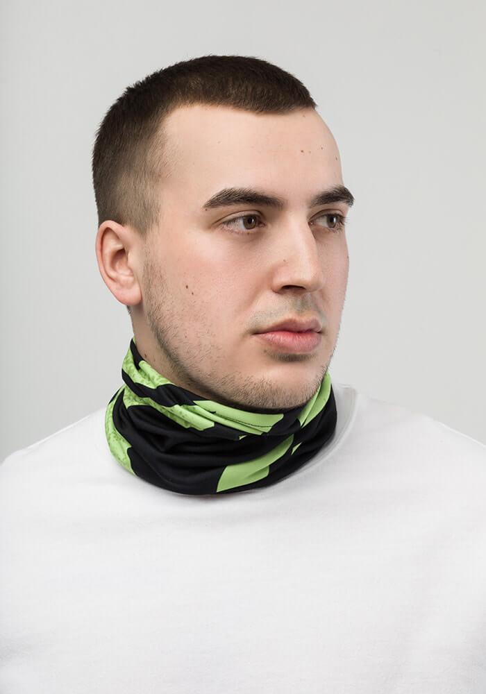 all over print neck gaiter