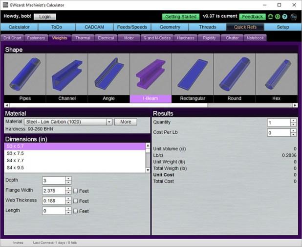 steel i beam chart pdf