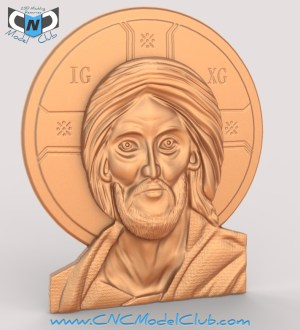 a cnc pattern / model of jesus for carvewright compucarve shopbot shark cnc machines