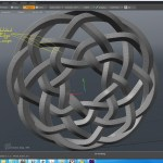this is an image of creating cnc patterns for celtic knots