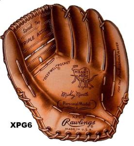 1964 Rawlings XPG6 baseball glove