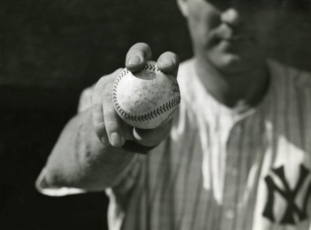Red Ruffing cross seam fastball grip