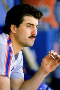Keith Hernandez smoking