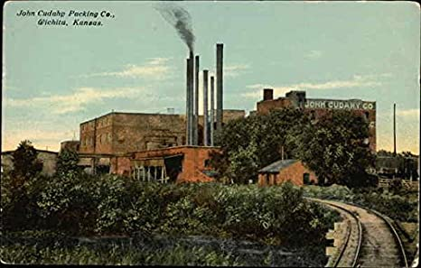 John Cudahy Packing Co. postcard
