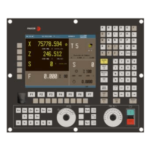 Fagor 8055 CNC front operator panel