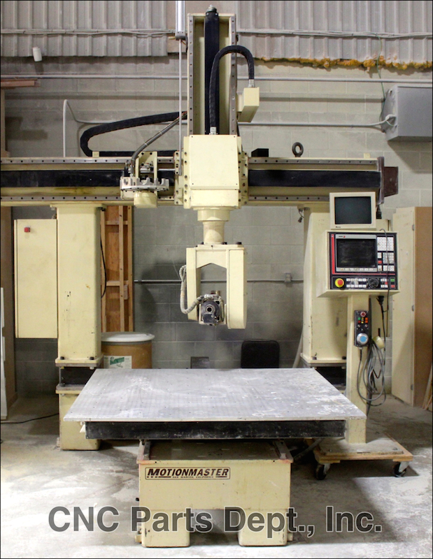 Motionmaster 5 axis CNC router E382
