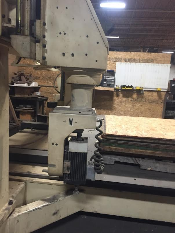 Motionmaster 5 axis CNC router E429