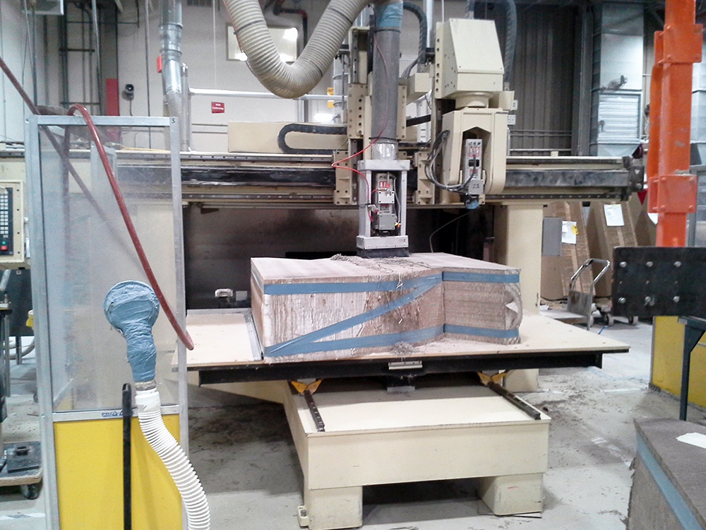 Motionmaster 5 Axis CNC Router E480 01