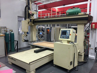 Motionmaster 5 axis CNC router E494 01