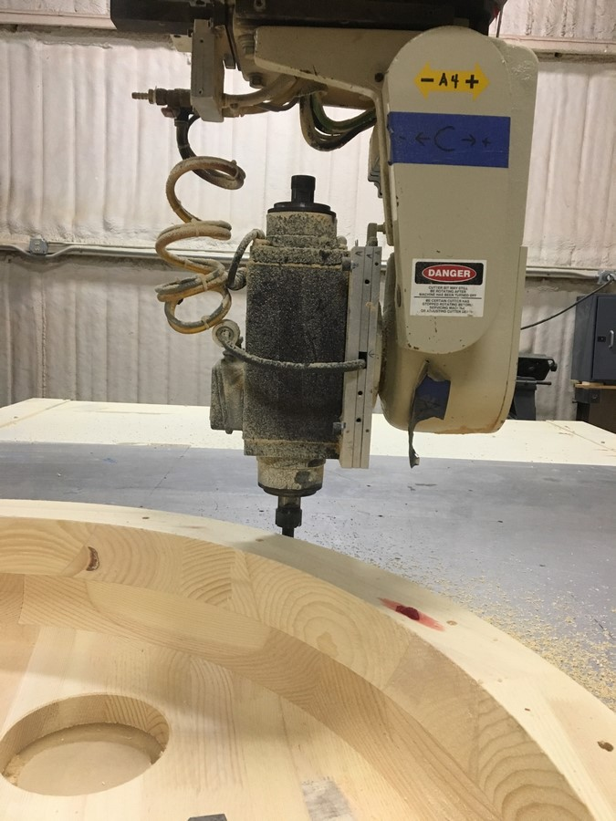 Thermwood 5 axis CNC router E495