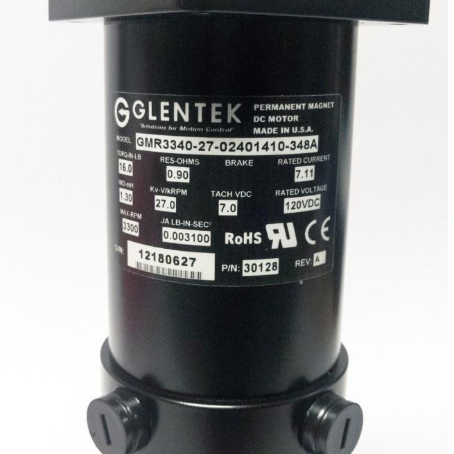 Glentek GMR3340-27 DC Servo Motor