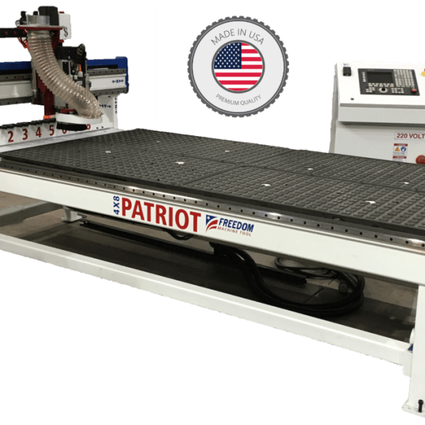 FMT Patriot 3 Axis CNC Router 4x8