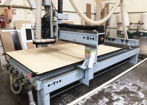 3 axis DMS CNC router C583