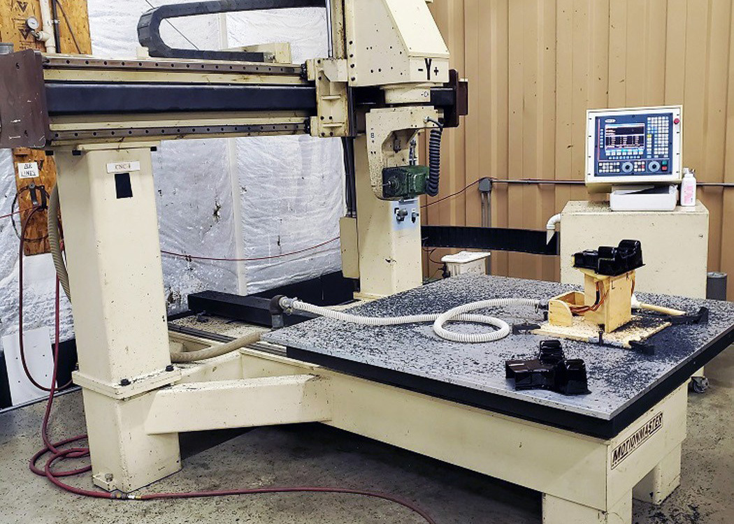 Motionmaster 5 Axis CNC Router E589