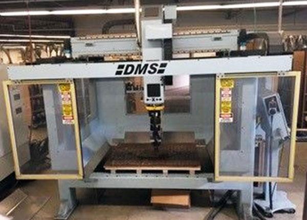 DMS 5 Axis CNC Router E606