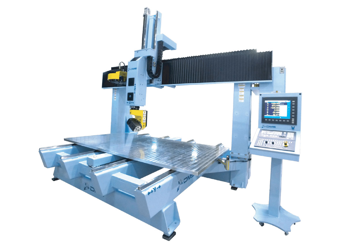 DMS 5 Axis Moving Table CNC Machine