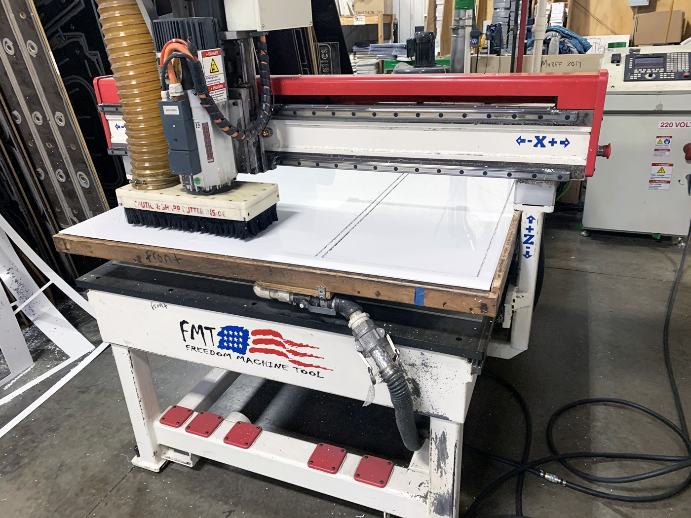 FMT 3 Axis CNC Router C622