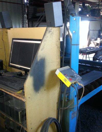 MHM-Custom-Australia-CNC-Plasma-Cutter-setup-in-workshop-768x576