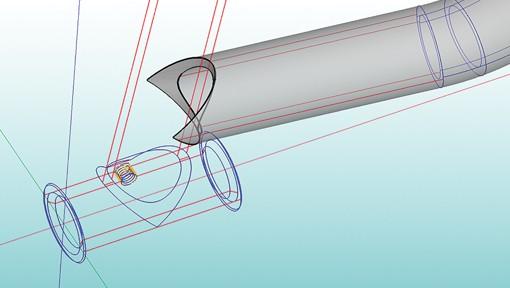 Bend-Tech Dragon CNC Plasma Pipe Cutting Machine CAD-DrawingCapability