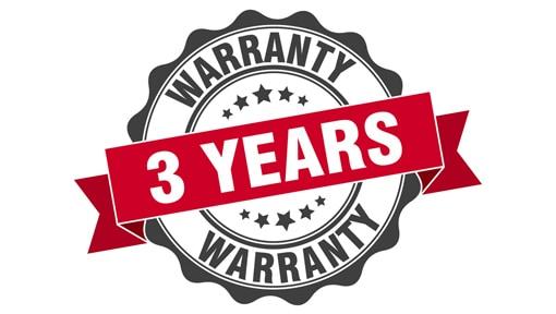 CNC Plasma Cutters market-leading 3 year warranty