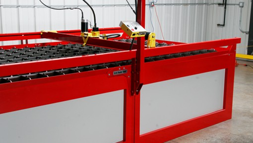 Robust and reliable CNC Plasma cutting table