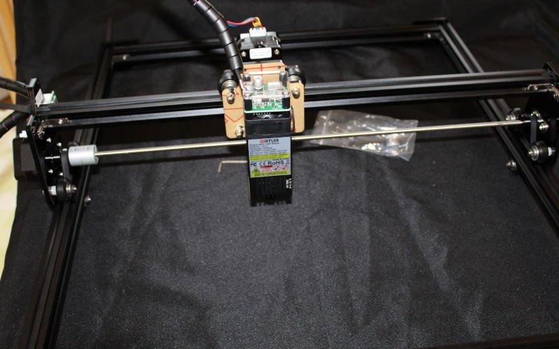 assembled ortur 2 DIY laser cutter