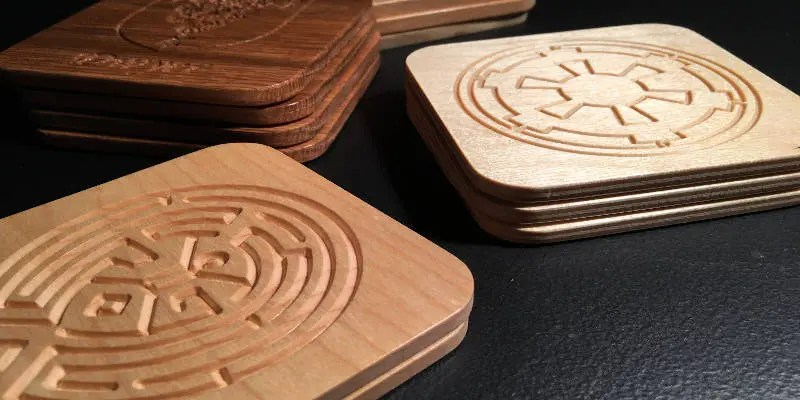 CNC Projects that Sell Coasters