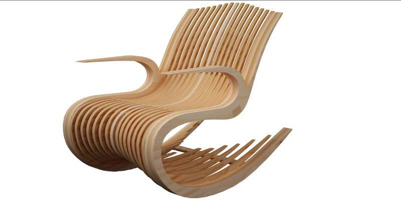 CNC Furniture Rocking Chair