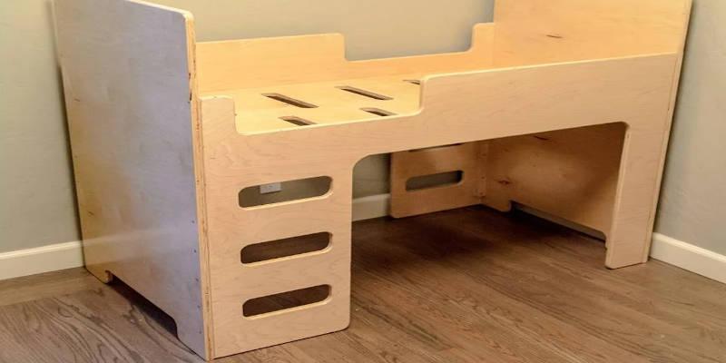 CNC Furniture Toodler Bed