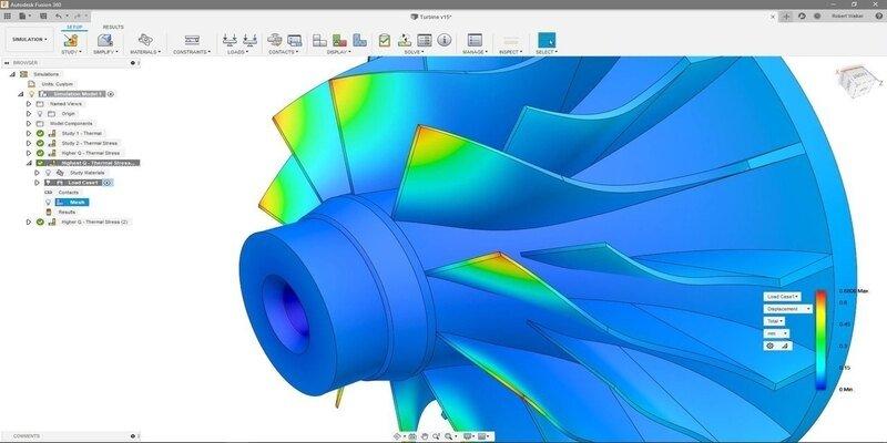 Fusion 360 CAD CAM software