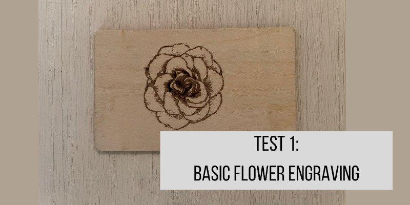 ortur laser master 2 pro engraving test on wood