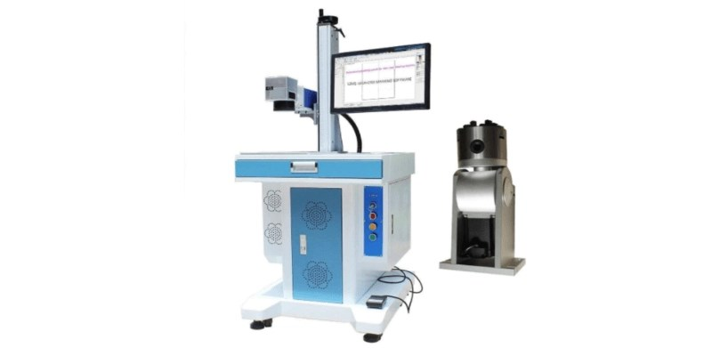 Ten-High Fiber Laser Engraving Machine