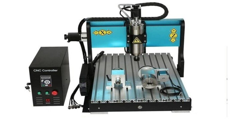 JFT CNC 6040 4 Axis Router