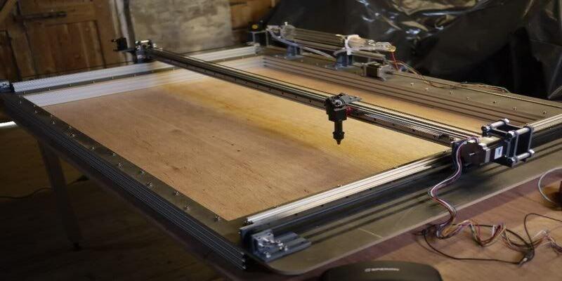 DIY laser cutter