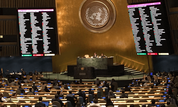 UN General Assembly approves historic resolution to negotiate nuclear ban treaty