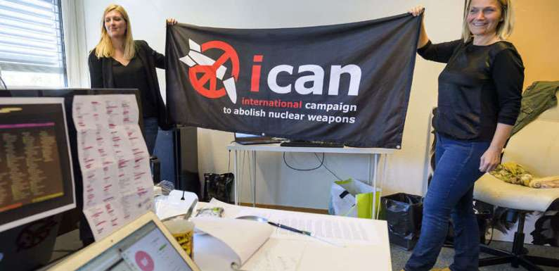 CNDP Warmly Welcomes the Award of the Nobel Peace Prize to ICAN