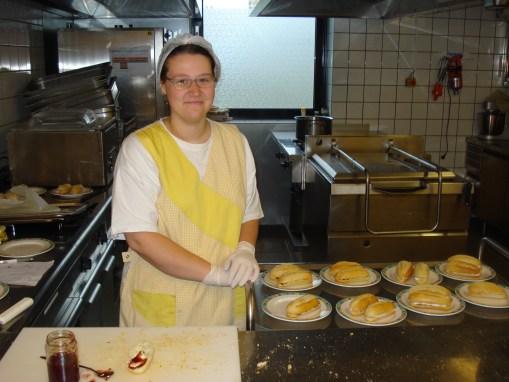 Le projet «cuisine et entretien»