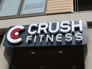 Crush Fitness Sign