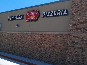 New York Pizzeria sign