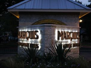 Marquis sign