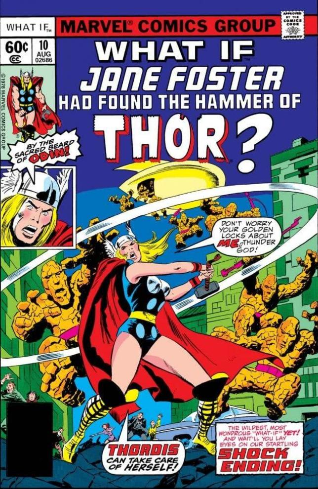 Jane Foster Thor What if