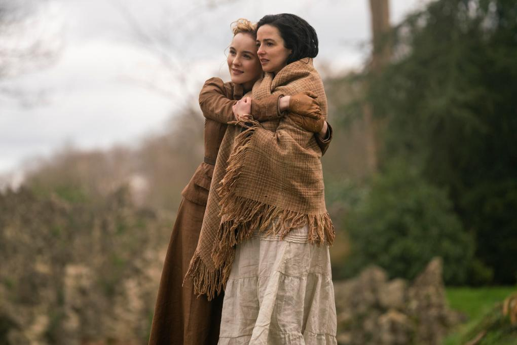 The Nevers Laura Donnelly and Ann Skelly