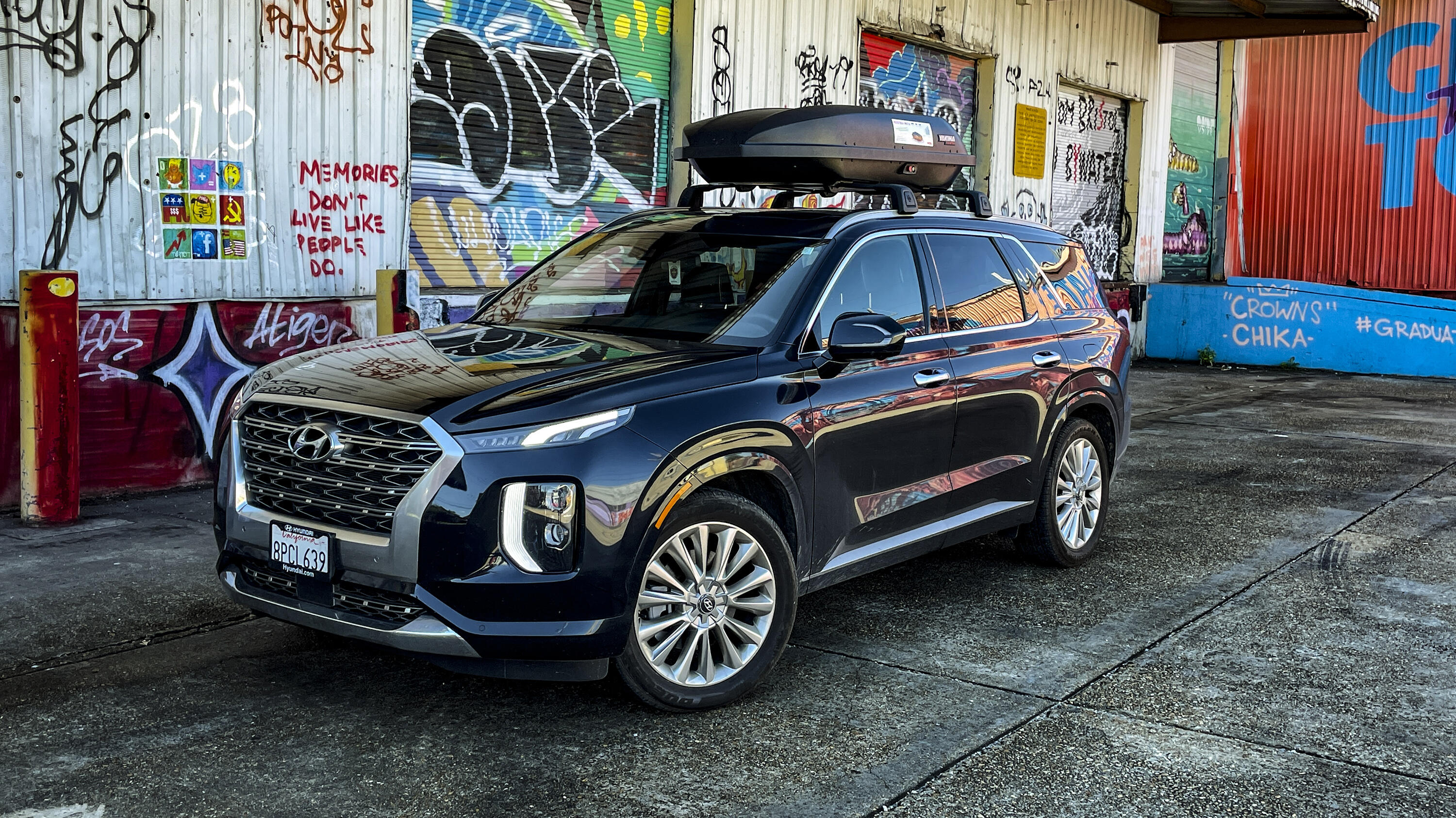 2,447 litres of total cargo capacity makes it easy to bring your gear on the go. 2020 Hyundai Palisade Long Term Update The Big Easy Roadshow