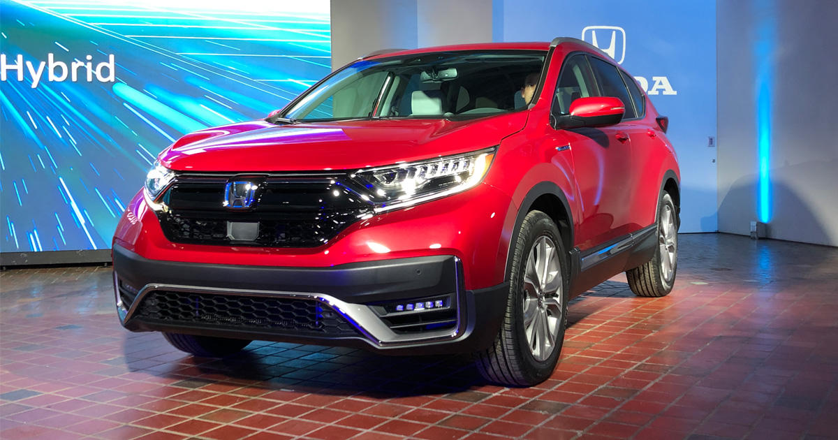Jetzt sind auch die preise bekannt: 2020 Honda Cr V Hybrid Debuts With Refreshed Styling And Better Fuel Economy Roadshow