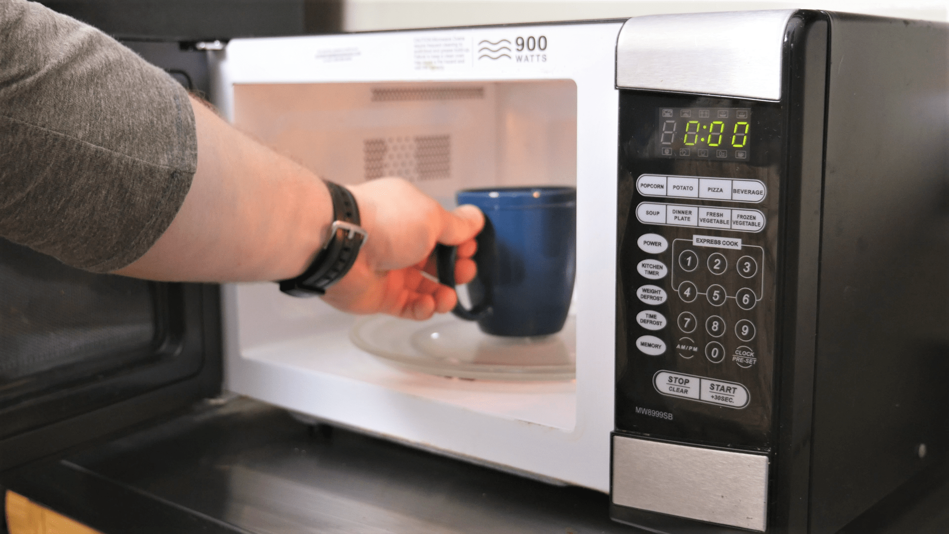annoying beeping of your microwave