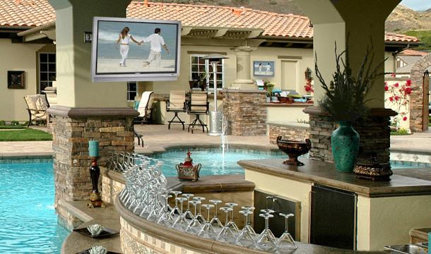 can i use an indoor tv outside cnet